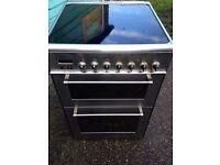 £128.36 Delongi sls/Black ceramic electric cooker+60cm+3 months warranty for £128.36
