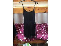 Hem and thread dress size ten black