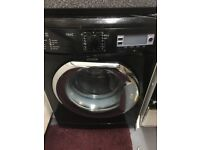 Next Washing Machine Black Digital Display