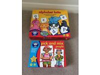 2x orchard Toys children's games