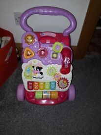 girls baby walker