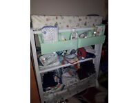 Unisex change table in excellent condition