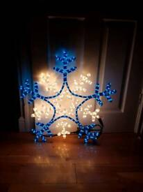 New Christmas outdoor snowflake