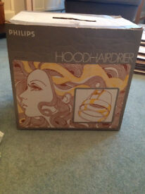 Philips 1970's hairdryer with stand