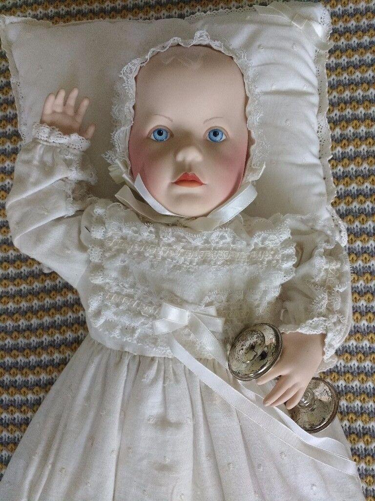 Franklin Heirloom Victorian Christening Doll (1989)