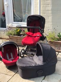 Mamas and papas 3 in 1 travel system - very good condition