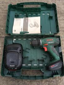 For sale Bosch 14.4v li drill in very good condition