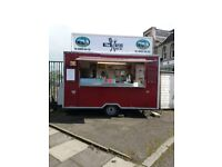 Fully fitted snack van
