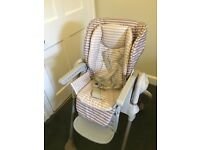 High chair 2 in 1 Chicco Polly-Dune