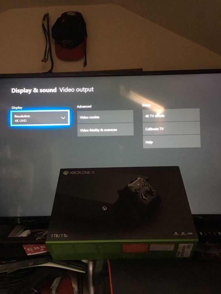 "Xbox one X and 4K UHD 49"" smart tv 