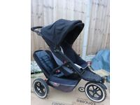 Phil & Teds Explorer Double Buggy Pushchair Stroller
