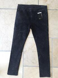 Brand new ASOS means jeans new with tags size 34w 30l