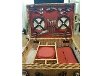 Picnic basket with tableware