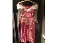 Girls Disney princess fancy dress 5-6
