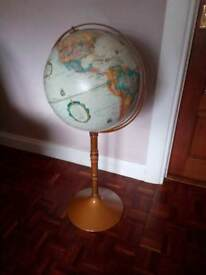 World globe free standing 39ins.high