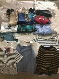 Boys clothes age 2/3 and trainers 6.5/7.5