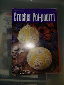 Pot pourri Unusual Crochet Book from the 1960's