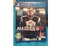 PS4 EA Sports Madden NFL 18