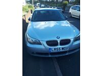 bmw 525d se auto 6 speed,silver,alloys,full history,3 owners from new