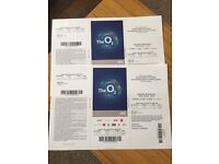 2 x Rod Stewart tickets Great seats 27th February 2017 at O2