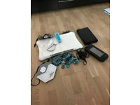 Nintendo Wii with etc