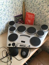 Yamaha DD65 Digital Drum Machine with Touch-Sensitive Drum and Foot Pads