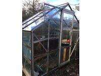 Aluminum green house