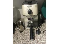 Distina delonghi coffee maker.