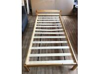 Single pine bed *reduced price*