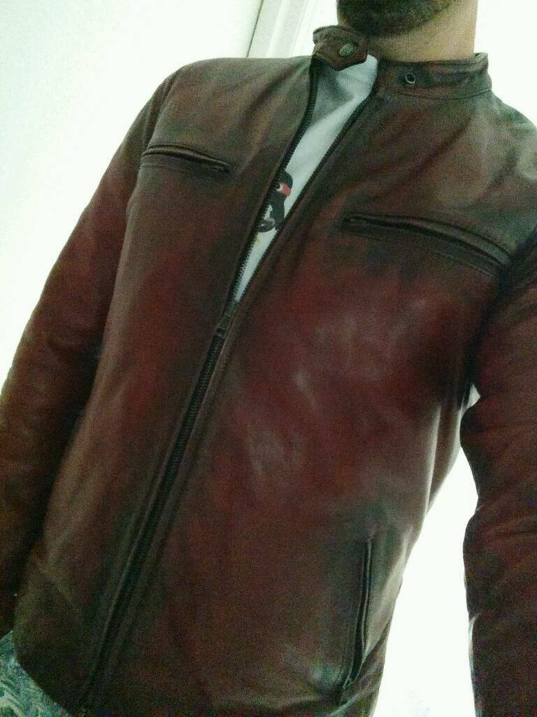 how to fix cracked fake leather jacket