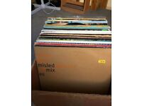 Box of 12 inch house/hip-hop/garage