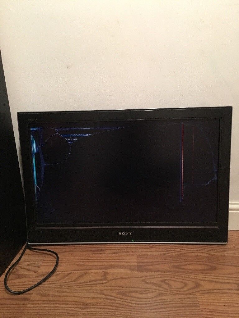 Sony KDL 30D3000 screen cracked for spares or repairs