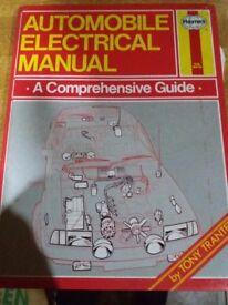 Haynes Automoblie electrical Manual.