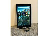 Blue Amazon Fire HD 10 (7th gen) 32GB tablet with Alexa