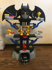 Imaginext Batman toys various bat caves and vehicles