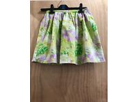Girls Jungle Print/ Flower Skirt
