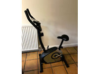 DYNAMIX EXERCISE BIKE WITH ONBOARD COMPUTER A GREAT ALTERNATIVE TO A TURBO TRAINER