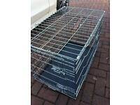 Dog crate. 75cm long