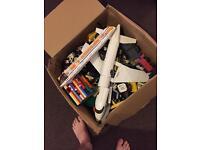 Huge box of lego approx 10kg inc Mini figures