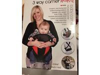 3way baby carrier
