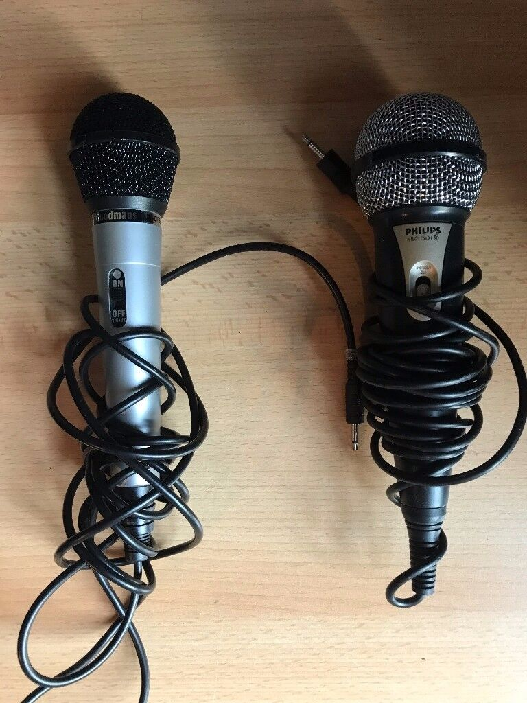 Philips & Goodman Microphone