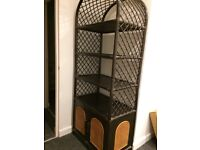bamboo bookcase / display unit