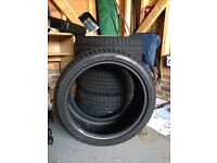 "BMW Winter tyres, full set hardly used - cost over £900 new - will fit all series BMW with 18"" rims"