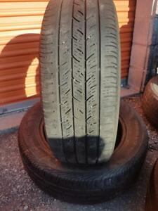 2 PNEUS ETE - CONTINENTAL 225 60 17 - 2 SUMMER TIRES