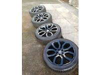 Range Rover Style 6 Alloy Wheels and Tyres