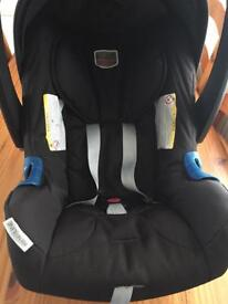 Britax baby car seat with base