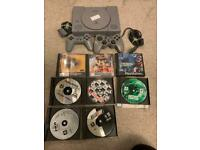 Sony ps1 bundle console with games