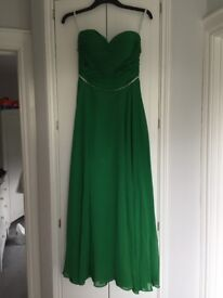 Emerald Green Formal Dress