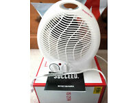 Argos Simple Value 2kW Upright Fan Heater 415/2174. Brand new. Outer bag & inner box both unopened.