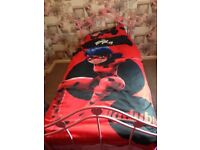 Miraculous lady bug bed cover